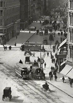 U.S. 23rd street at the Flatiron Building, NYC, 1903
