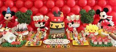 Mickey and Friends Birthday Party Planning Ideas Supplies Idea Cake