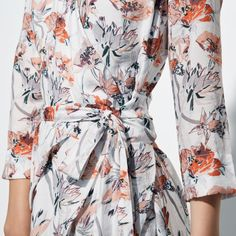 dead format floral wrap dress Fall Winter Spring Summer, Wrap Dress Floral, Winter Springs, Floral Tops, Clothes, Shopping, Dresses, Women, Fashion