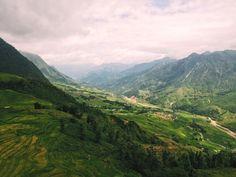 Sapa Trekking through rice terraces