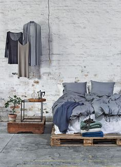 #bedroom | photography Niels Bush, styling Gitte Christensen via Objects & Use