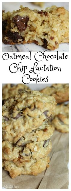 Lactation cookies are a treat for a new mommy ~ full of ingredients like brewers. Lactation cookies are a treat for a new mommy ~ full of ingredients like brewers yeast and flaxseed meal, they Boost Milk Supply, Increase Milk Supply, Breastfeeding Snacks, Breastfeeding Smoothie, For Elise, Flax Seed Recipes, Flaxseed Meal Recipes, Lactation Recipes, Lactation Foods