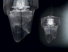 Aria Transparent by Zaha Hadid for Slamp