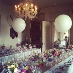 vintage banquet style at Aynhoe Park by Euphoric Flowers. This style would be equally as beautiful in a marquee setting.