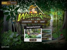 WilderQuest - explore the Australian rainforest and discover animals and more.