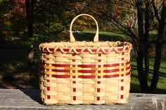 Simple Wall Basket - based on a pattern by Suzanne Moore