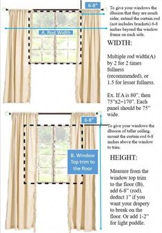 Pair of Belgian Linen Curtains, Canvas weight linen, custom curtains, extra long curtains, 12 Color Choices No Sew Curtains, Drop Cloth Curtains, Curtains Living, Rod Pocket Curtains, White Curtains, Custom Curtains, Linen Curtains, Hanging Curtains, Linen Fabric