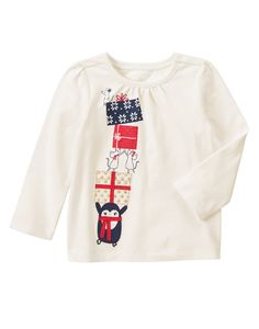 Penguin Gifts Long Sleeve Tee 2T