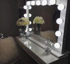 This Vanity Lighting Is A Girls Best Friend Goals Lighting Makeup