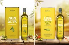 Costanza Oil Range on Packaging of the World - Creative Package Design Gallery