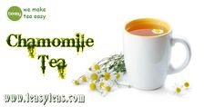 Chamomile is also known to have a number of compelling health benefits, including lowering blood sugar and having a relaxing effect. http://www.teasyteas.com/chamomile-tea/