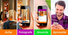 OLX Brasil Shopping Apps, Ios, Android, Windows, Phone, Apps, Telephone, Mobile Phones, Window