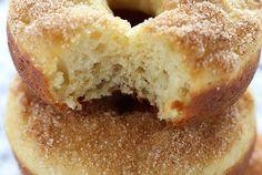 Maple Cinnamon Sugar Baked Donuts
