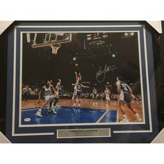 "Framed Autographed/Signed Christian Laettner Duke Blue Devils ""The Shot"" 16x20 Basketball Photo JSA COA         >>> You can get additional details at the image link. (This is an affiliate link) #SportsCollectibles"