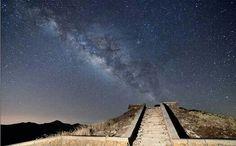 合歡山上的銀河
