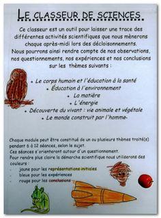 ..: Ma Cité des Sciences [Le cahier ou classeur de sciences en maternelle] :..