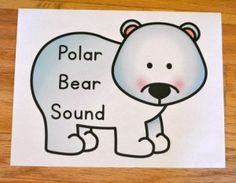 polar bear sound game finish line