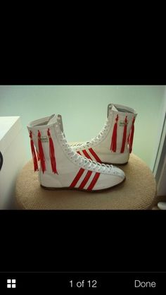 Vintage Adidas boxing shoes! I need these!!