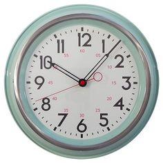 "Threshold 14"" Schoolhouse Wall Clock"