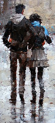 """""""Towards the Square"""" by Andre Kohn"""