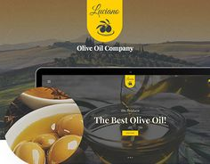 """Check out new work on my @Behance portfolio: """"Olive Oil and Vinegars Production WordPress Theme"""" http://be.net/gallery/47015361/Olive-Oil-and-Vinegars-Production-WordPress-Theme"""