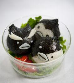 Mawaru Penguindrum salad...the broken heart things are appropriate *muffled cries*