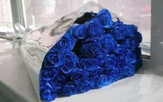 art, beautiful, beauty, blue, blue roses, bouquet, bouquets, classic, flower, flowers, gifts, gorgeous, love, lovely, modern, nice, pretty, rose, roses, style, vintage, windows, ورد, جميلة, أزرق, elege