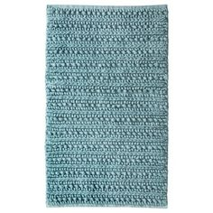 Threshold Bath Rug - Blue (20x34)