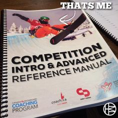 I'm so grateful to have made on on the cover of the Canada Snowboard Coaching Manual! Thank you so much @doneksnowboard @freshairkelowna @bounceboardpro @silverstarfreestyle