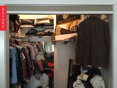 Before & After: Turning a Walk-In Closet Into a Nursery