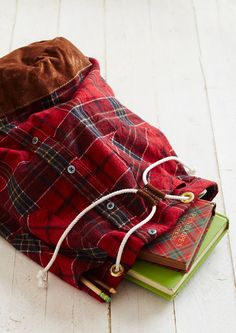 Awesome ways to reuse old flannel shirts!