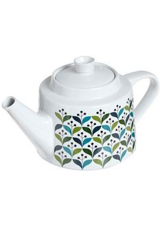 I utterly adore teapots, and when a retro pattern slides in, I know it's true love...