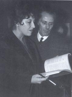 Natália Correia e Mário Cesariny
