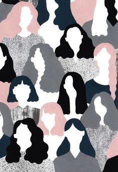 Illustration for Double Dot Magazine by Alessandra Genualdo Illustrations, Art And Illustration, Inspiration Art, Art Inspo, Wallpaper Backgrounds, Iphone Wallpaper, Wallpapers, Poster S, Digital Illustration