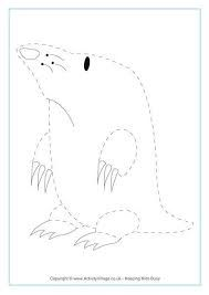 Pin by muse printables on printable patterns at for Mole day coloring pages