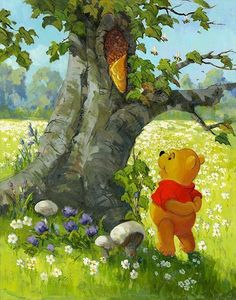 Your source for all things Winnie the Pooh since Winnie The Pooh Pictures, Cute Winnie The Pooh, Winne The Pooh, Winnie The Pooh Quotes, Winnie The Pooh Friends, Cute Wallpaper Backgrounds, Cartoon Wallpaper, Disney Wallpaper, Wallpapers