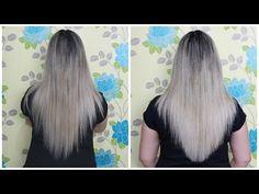 Como cortar o cabelo em casa sem tirar o comprimento  Passo a passo
