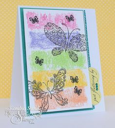 SweetStamps Monthly challenge 6/15/14 - 7/14/14 Use Painters Tape; DT Kendra