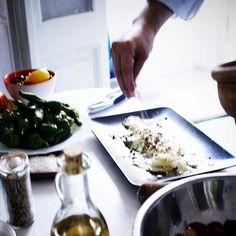 I'll pass on the #yoga, my #zen is hidden amongst micro planes and whisks. #papalosophy #cookingaddict #shootthechef #foodieforlife #tapas #foodart www.papaserra.com