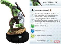 Worldbreaker #013 Marvel 10th Anniversary Heroclix Singles