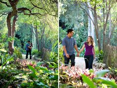UCLA garden engagement by Chelsea Elizabeth Photography