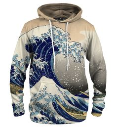 Kanagawa Wave hoodie Material: Cotton, Polyester Cut: Unisex Origin: Made in EU Availability: Made to order Waves, Unisex, Pullover, Hoodies, Stylish, Sweaters, Cotton, Collection, Products
