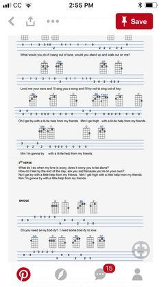 Ukulele Tabs Songs, Ukulele Fingerpicking Songs, Uke Tabs, Guitar Chord Chart, Guitar Chords, Ukelele, Sing Out, Trombone, Mandolin