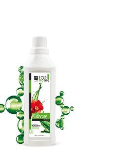 Υγρό γενική χρήσης με αυθεντικό άρωμα φρέσκων ανθών ροδιού!