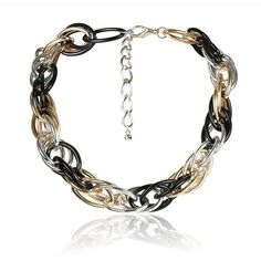 High Quality Steampunk Thick Chain Choker Necklace