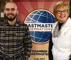 A weekend welcome  to Rochester Chamber #Toastmasters newest members - Greg Klinger & Marli Erickson! #rochmn #d6tm #rochdmc #olmstedcounty