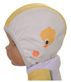 Bonnet de bain bébé nageur de Piwapee.