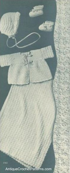 pattern for crotchet gift set