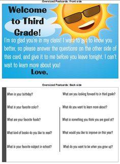 vista print ideas from yay third grade