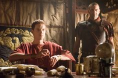 hbo rome: Octavian and Titus Pullo Ancient Rome, Ancient Greece, Rome Hbo, Rome Tv Series, Mark Antony, Roman Soldiers, Roman History, 1st Century, Great Tv Shows